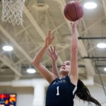 Lady Blazers Dispatch Calumet Friday Night