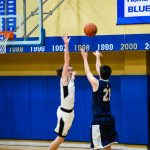 Sharp Shooting Steers Blazers in Rout of Indianapolis International