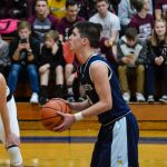 Kenney Surpasses 1,700 Points, but Blazers Drop Road Tilt at Noll