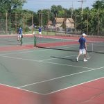 Blazer Tennis Drops 3-2 Decision Monday