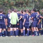 Marquette Falls at Griffith on Wednesday