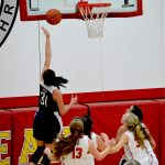 Lady Blazers Dominate in Sectional Opener