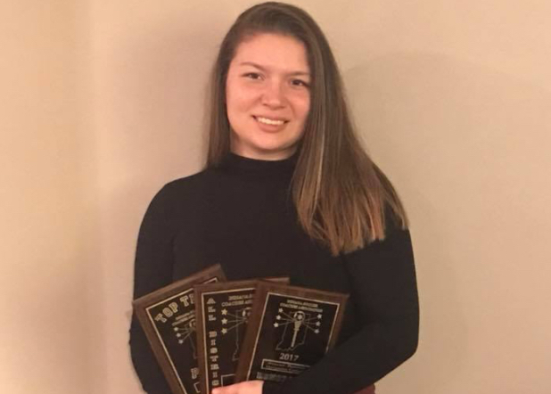 ISCA Tabs Barron as Honorable Mention All-State Selection