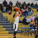 Four Lady Blazers Post Double Figures in Sectional Opener