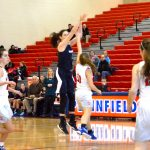 Lady Blazers Complete Sweep to Claim Plainfield Winter Classic Title