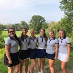 Lady Blazer Golf Overpowers Andrean Tuesday