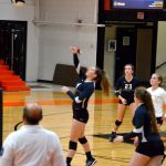 Lady Blazers Sweep Roosevelt for 10th Win of Season