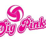 Volleyball's Dig Pink Match Slated for October 10th