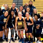Lady Blazers Band Together to Take Sectional Crown