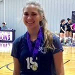 Grott Named to All-Tournament Team at VCA Invite