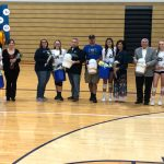 Blazer Volleyball Celebrates Senior Night Wednesday