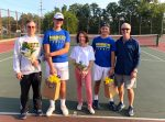 Blazer Tennis Triumphant on Senior Day