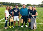 Blazers Honor Lindsey, Rowley on Wednesday