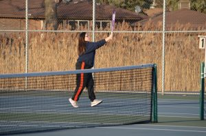 Girls Varsity and JV Tennis vs.  Highland