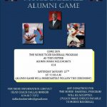 3rd Annual Alumni Baseball Game Jan.13th, 11am