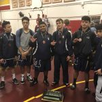 Boys Varsity Wrestling, Gonzalez takes 2nd place at Monte Vista/Spring Valley