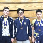 Boys Varsity Wrestler, Anthony Gonzalez took 1st place at San Pasqual