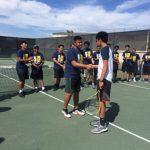 Varsity Tennis vs Clairemont 4/18