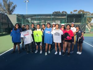Girls Summer Tennis 2018