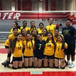 Girls JV Volleyball wins all 3 at Sweetwater Tourney