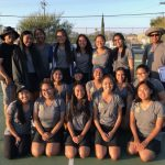Girls Tennis at CIF playoffs