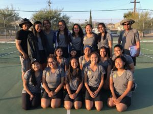 Girls Tennis 2018-19