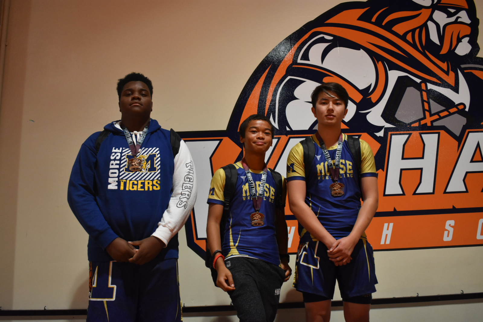 Congrats to the JV Wrestling Team