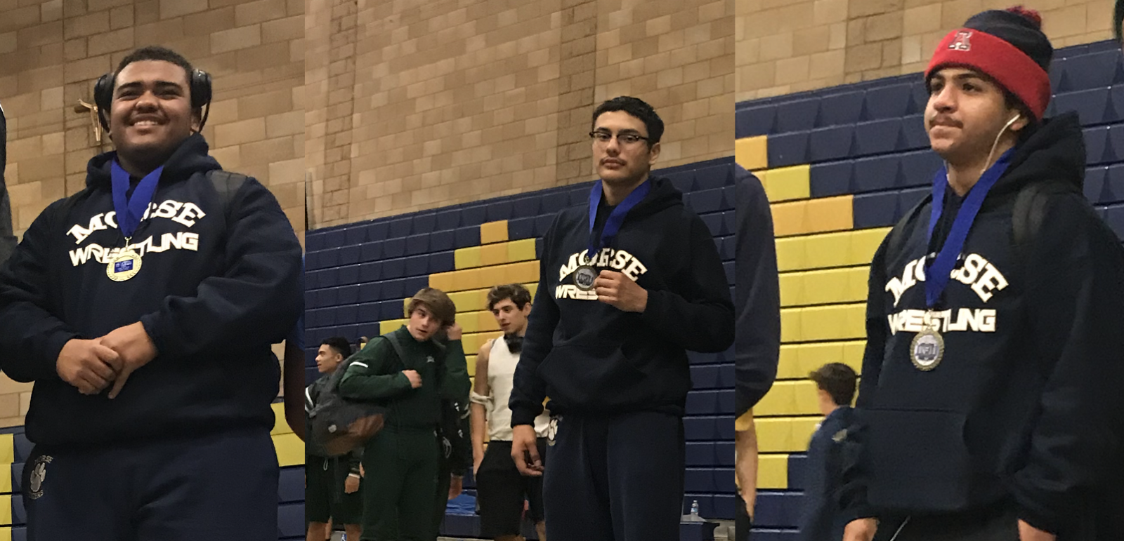 Morse Wrestlers place at King of the Beast