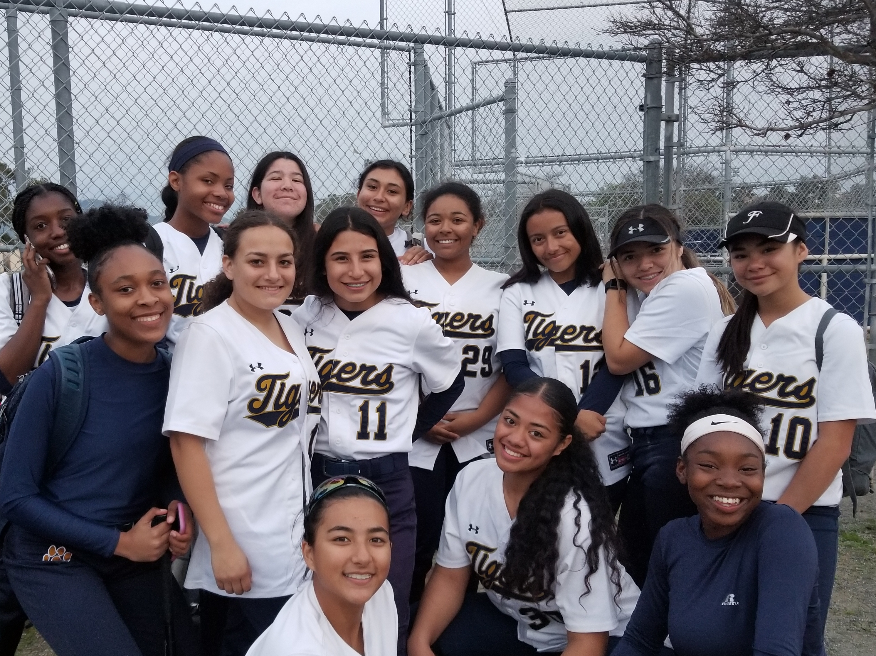 Girls Varsity Softball beats Bayfront Charter 14 – 6