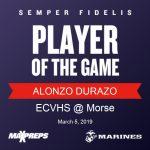 Congrats to Alonzo Durazo