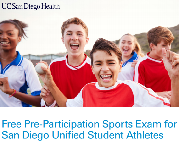 Free Physicals Sat. Jun1st @ San Diego High