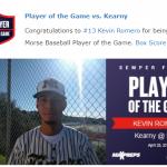 Baseball beats Kearny to Tie for Central League!