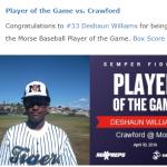 Morse Baseball beats Crawford 16-3