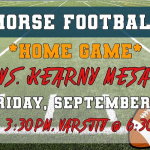 Football vs Kearny Home Sept.6th