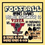 Morse Football Home vs Vista