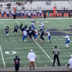 JV Football video clip vs Chula Vista