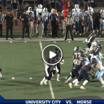 Morse football beats UC 55-13