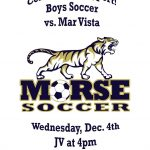 Boy's Soccer Dec.4th