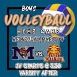 Boys VB Wed Mar.4th