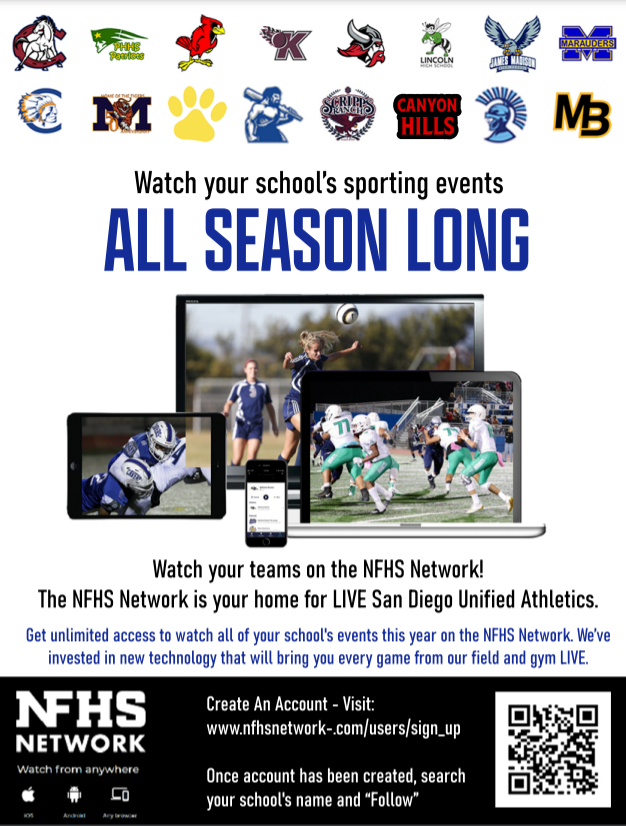 NFHS Watch your school's sporting events ALL SEASON LONG!