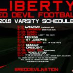 2019 Football Schedule Announced