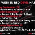 This Week in #reddevilnation 9/13-9/19