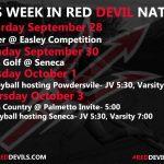 This Week in #reddevilnation 9/27-10/3