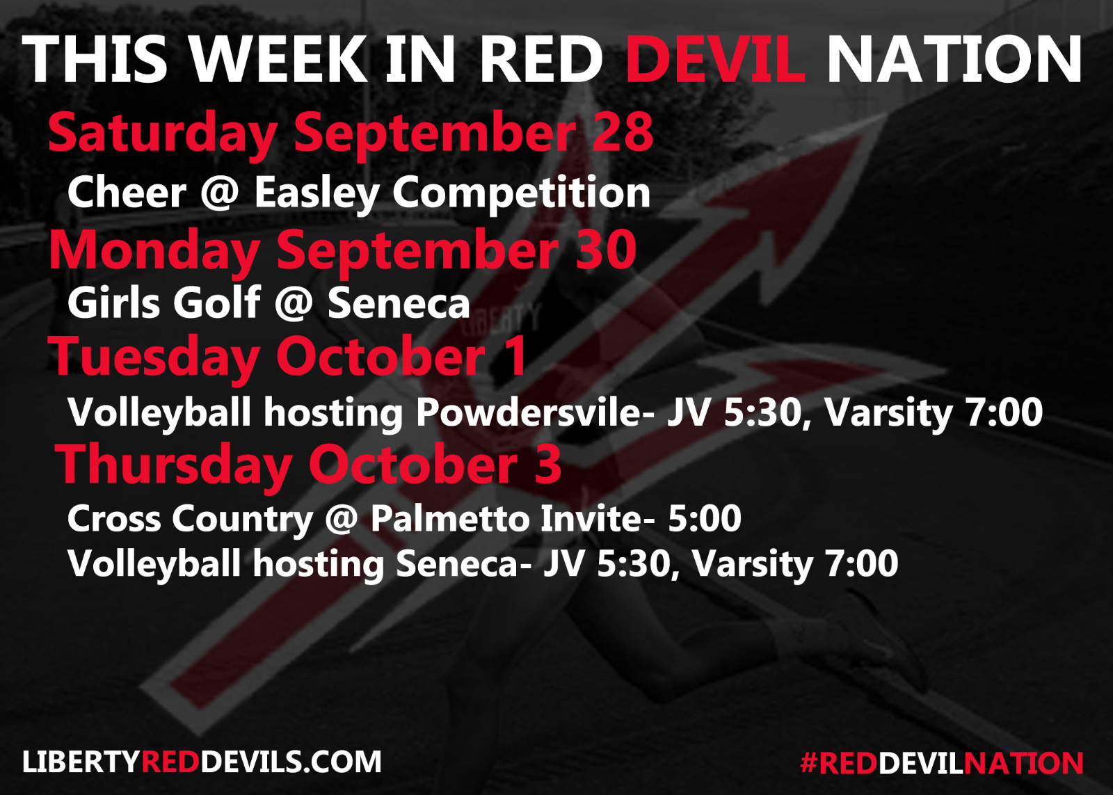 This Week in #reddevilnation 9/27-10/3