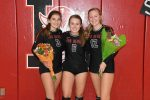 Volleyball 2020 Senior Night v. Crescent