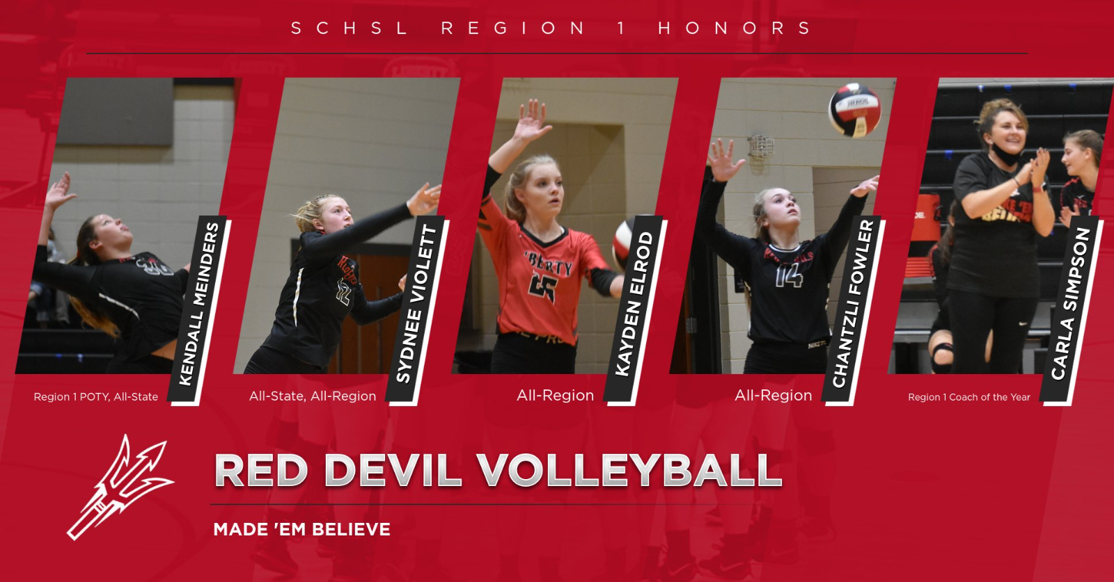 Varsity Volleyball Earns Honors