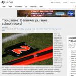 AJC Article on Banneker Football