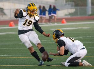 Mission Bay Football vs. Clairemont 10-26-18