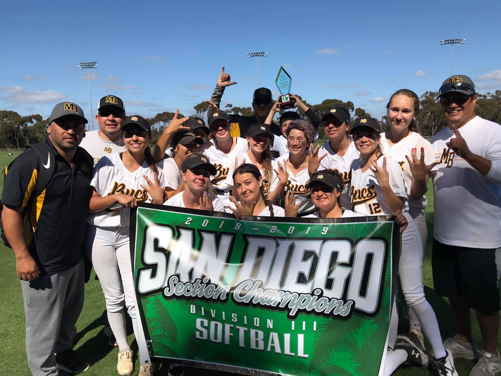 Mission Bay Softball Wins CIF Division III Championship with Comeback