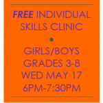 FREE YOUTH BASKETBALL SKILLS CLINIC